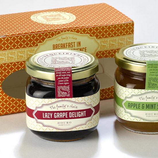 Sequeirinha branding and Naming Douro Gourmet products