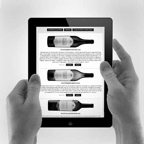 Configuramos a presença digital da marca